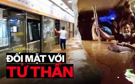 """""""Xin cứu chúng tôi"""": Khoảnh khắc cận kề cái chết theo lời kể của hành khách trên con tàu điện ngầm chìm trong trận lũ """"ngàn năm có một"""" ở Trung Quốc"""
