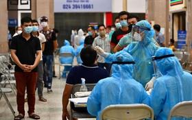 Hà Nội tiếp tục thêm 10 ca dương tính SARS-CoV-2 thuộc 4 chùm ca bệnh