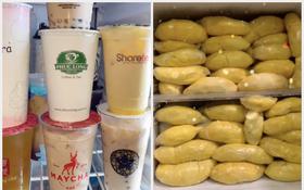 """Những chiếc tủ lạnh """"giàu có"""" nhất mùa dịch: Trữ rau thịt đã là gì, có người còn để dành cả… sầu riêng và trà sữa!"""