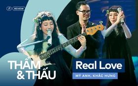 Real Love của Mỹ Anh và Khắc Hưng - Khi âm nhạc tối giản lên ngôi