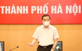 Chủ tịch Hà Nội: Địa bàn nguy cơ cao được áp dụng biện pháp mạnh hơn Chỉ thị 16