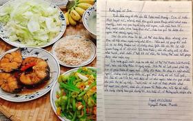 """Được hàng xóm giúp đỡ lúc bệnh tật khốn khó, cụ ông viết bức thư tay đầy cảm động: """"Tình xóm giềng cô giúp đỡ rất quý, không lời cảm ơn nào xứng đáng"""""""