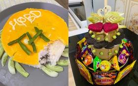 """Những chiếc bánh sinh nhật """"cộp mác"""" mùa dịch khiến dân mạng phát cuồng: Không có bánh kem thì mình ăn đỡ thứ khác!"""