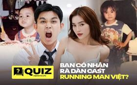 """Mời fan Running Man Việt vào đoán ảnh thời """"cởi truồng tắm mưa"""" của các thành viên!"""