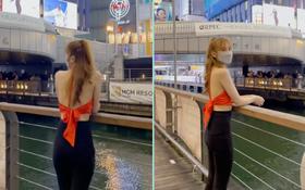 """Netizen vô cớ """"tấn công"""" một cô gái check-in tại bờ sông ở Nhật, trùng với nơi thanh niên được cho là người Việt bị hành hung"""