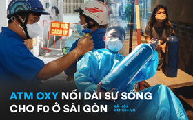 """""""Cha đẻ"""" ATM gạo cho ra đời ATM Oxy và câu chuyện bình oxy cứu sống một người cha ở Sài Gòn trong đêm"""