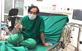 Xót xa hình ảnh cuối đời của NS Giang Còi: Thái độ lạc quan trên giường bệnh khiến bao người thán phục!