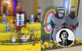 Tang lễ gấp rút của NS Giang Còi: Các con bật khóc nức nở, Quang Tèo và nhiều bạn bè, người thân không kịp đến tiễn biệt