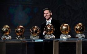 Toàn bộ sự nghiệp vĩ đại của Messi tại Barcelona qua ảnh