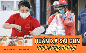 """Người Sài Gòn """"rần rần"""" đặt đồ ăn online: Quán xá chuẩn bị hàng trăm đơn, shipper hoạt động hết công suất mới kịp giao cho khách"""
