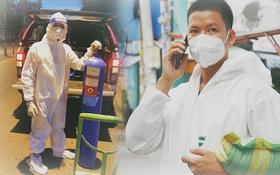 Ông chủ trẻ đóng cửa homestay, rời vùng xanh lên Sài Gòn vác bình oxy xuyên đêm để cấp cứu F0