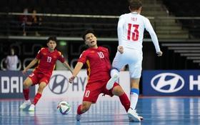 [Trực tiếp Futsal World Cup] Việt Nam 1-1 CH Czech: Không thể tin nổi!!! Bàn thắng cho tuyển Việt Nam