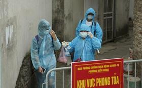 Hà Nội: Lấy mẫu xét nghiệm, đưa 21 trường hợp F1 tại Hà Đông đi cách ly sau 2 ca dương tính SARS-CoV-2