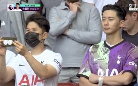 Tài tử Park Seo-joon tới xem bạn thân Son Heung-min thi đấu nhưng đội bóng của cầu thủ số 1 châu Á lại thủng lưới tan nát