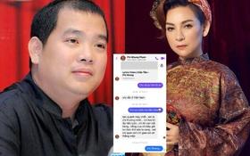 """Hé lộ tin nhắn cuối cùng Phi Nhung gửi nhạc sĩ Minh Khang, đàn em muốn """"phát hờn"""" vì bỗng dưng nói về điềm gở"""