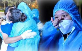 Hà Nội gỡ phong tỏa ổ dịch Thanh Xuân Trung: Người dân phấn khởi, nhân viên y tế bật khóc, ôm chầm lấy nhau vì hạnh phúc