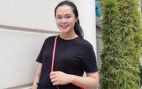 Quỳnh Anh (vợ Duy Mạnh) khoe nhan sắc khi mang bầu: Đúng là ảnh tự đăng, khác hẳn hình được chụp