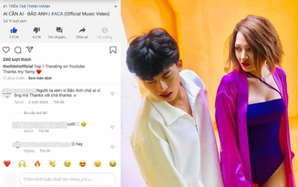 """Nam chính MV Bảo Anh vội khoe thành tích Top 1 Trending, ai ngờ bị fan vào cà khịa là """"nhận vơ"""" phải xoá ngay lập tức"""