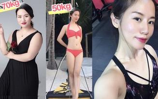"""5 bí quyết giúp mẹ """"bỉm sữa"""" xứ Trung giảm 20kg sau sinh nở, lấy lại body săn chắc đáng ngưỡng mộ"""