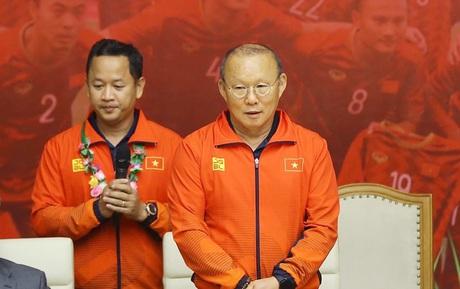"""HLV Park Hang-seo: """"Tôi xin gửi vinh quang này cho người dân Việt Nam"""""""