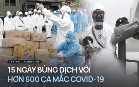 15 ngày đợt dịch thứ 4 bùng phát tại Việt Nam: 610 ca mắc lan ra 26 tỉnh/thành phố