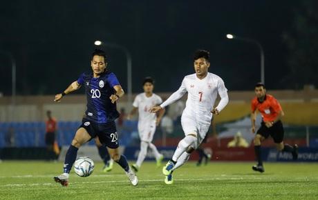 [Chung kết SEA Games 30] Việt Nam vs Indonesia: Campuchia ghi bàn thắng nhanh nhất giải, dẫn Myanmar 1-0 trong trận tranh hạng 3