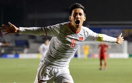 [Chung kết SEA Games 30] Việt Nam 2-0 Indonesia (H2): Hùng Dũng ăn mừng bàn thắng đẩy cảm xúc