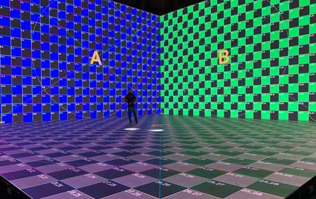 Lộ ảnh sân khấu ra mắt MXH Lotus trước giờ G: Màn hình khủng mãn nhãn, công nghệ hiệu ứng 3D hoành tráng