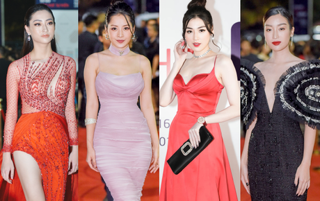 Thảm đỏ khủng sự kiện ra mắt MXH Lotus: Dàn Hoa hậu, Á hậu siêu lộng lẫy đồng loạt đổ bộ, Châu Bùi & Decao đã lộ diện