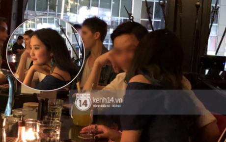 Primmy Trương bị bắt gặp hôn má người đàn ông lạ trong bar, có bạn trai mới sau 8 tháng chia tay Phan Thành?