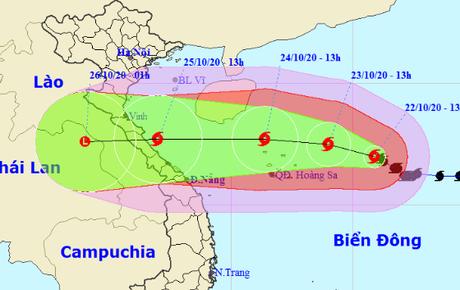 Tin bão mới nhất: Bão số 8 giật cấp 14, hướng vào vùng biển Nghệ An - Quảng Trị