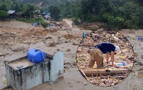 Ảnh: Hiện trường ngổn ngang vụ sạt lở ở Quảng Nam khiến hàng chục người bị vùi lấp