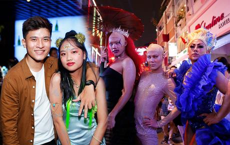 """Giới trẻ Sài Gòn chơi Halloween cực táo bạo: Lên đồ không ngại xấu, quẩy """"banh nóc"""" hộp đêm"""