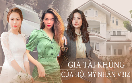 """Khối tài sản của hội mỹ nhân Vbiz sinh con năm """"Chuột vàng"""": Ở nhà sang đi xế xịn, choáng nhất nữ ca sĩ chi 21 tỷ mua trang sức"""