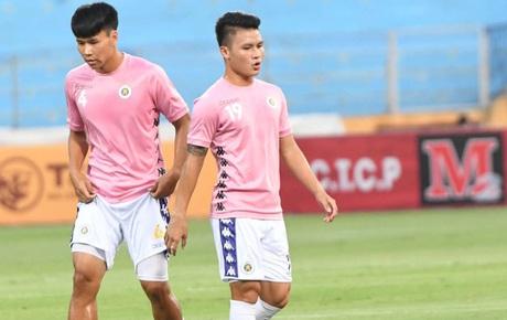 [Trực tiếp V.League] CLB Hà Nội 0-0 HAGL: Quang Hải đá phạt góc nguy hiểm