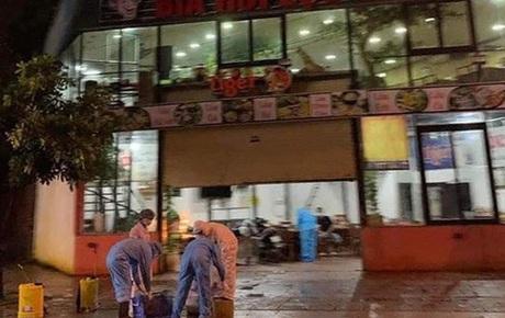 Hà Nội thông báo khẩn, tìm kiếm những người từng đến quán bia Lộc Vừng