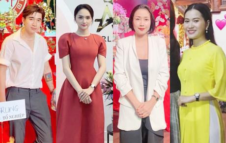 Dàn sao Vbiz đình đám đồng loạt dâng hương cúng Tổ nghiệp: CEO Hương Giang rạng rỡ, Lâm Vỹ Dạ - Ốc Thanh Vân giản dị