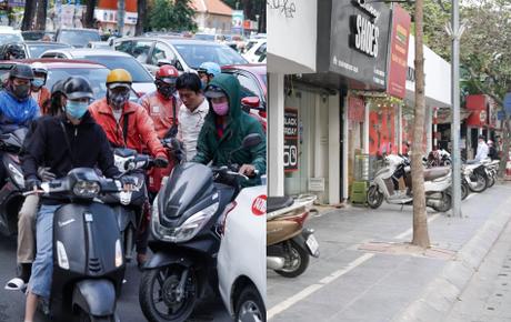 Mua sắm ngày Black Friday:  Kẹt xe quanh TTTM ở Sài Gòn vì khách đổ về đông, phố Hà Nội đìu hiu mùa giảm giá