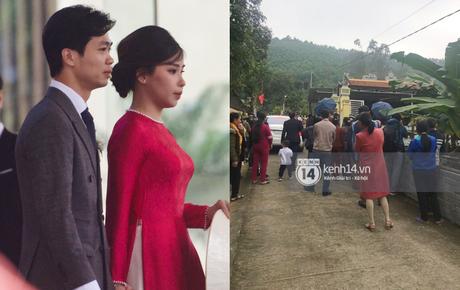 Trực tiếp đám cưới Công Phượng tại Nghệ An: Nhà gái đã có mặt tại hôn lễ, hàng xóm xôn xao vì có người chưa biết mặt cô dâu