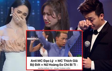 Biến căng: Vợ chồng Trấn Thành - Hari Won và Hương Giang bị lập chung group anti, số lượng thành viên đã cán mốc 36 nghìn