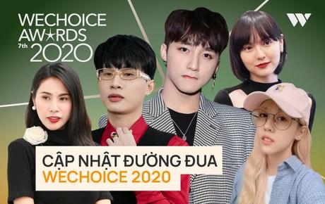 """Thế trận """"nghẹt thở"""" trước giờ WCA 2020 đóng cổng vote: Jack - Sơn Tùng, Hải Tú - Tlinh so kè sát nút, tất cả hạng mục đều khó lường"""