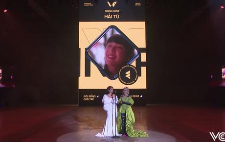 Gala WeChoice Awards 2020: Hải Tú được gọi tên tại hạng mục Rising GenZ