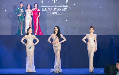 Chung kết Đại Sứ Hoàn Mỹ: Chính thức công bố top 3, các thí sinh bước vào vòng thi phụ để tìm ra Hoa hậu
