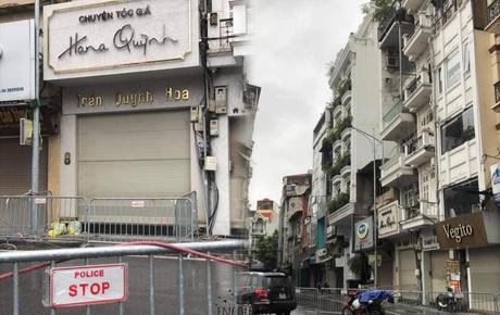 Hà Nội: Chốt chặn 2 đầu phố Đình Ngang sau khi ghi nhận ca test nhanh dương tính SARS-CoV-2 đi lại nhiều nơi
