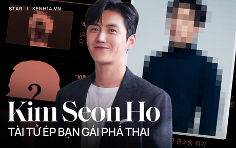"""Kim Seon Ho - Tài tử chấn động Kbiz vì ép bạn gái phá thai: Nam thần nhút nhát vì mẹ bị đâm, quỳ gối van xin dù bị """"cắm sừng"""""""