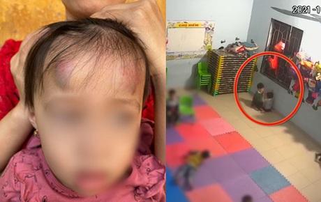 Vụ bé gái 2 tuổi bị bạn học đánh đạp dã man: Tạm đình chỉ hoạt động nhóm trẻ mầm non Vân Vũ cho trẻ 2,3,4 tuổi ở lẫn lộn