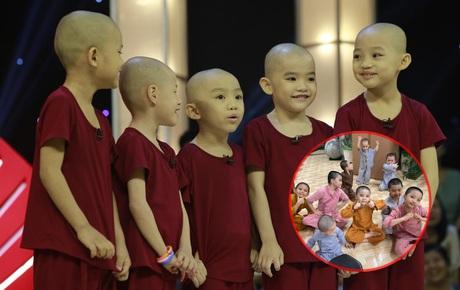 """5 em bé ở """"Tịnh thất Bồng Lai"""" nổi tiếng từ Thách Thức Danh Hài giờ ra sao?"""