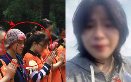 Xôn xao hình ảnh Diễm My quen Lê Thanh Huyền Trân trước khi đến Tịnh thất Bồng Lai và cắt tóc đi tu