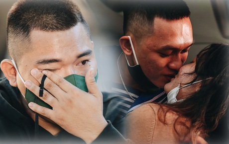Thanh niên TP.HCM lên đường nhập ngũ: Người khóc nghẹn vì vừa chia tay bạn gái, người hạnh phúc khi được trao nụ hôn đầu tiên