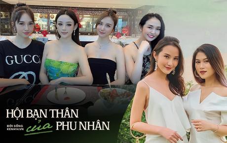 """Khui hội bạn thân """"quyền lực"""" của con dâu hào môn Việt, đúng là mây tầng nào gặp mây tầng ấy!"""